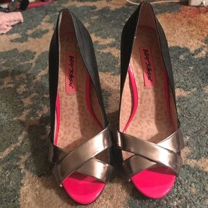 Betsey johnson stilettos